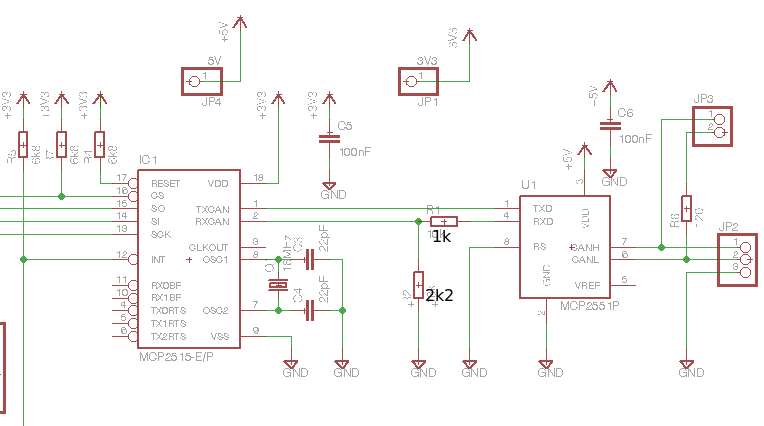 CAN + Raspberry Pi Raspberry Pi Wiring Schematic on